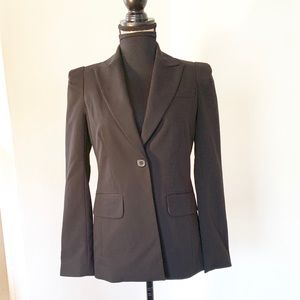 F21 size small blazer with strong shoulder